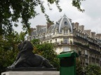 Parisian Mount Parnassus: a calm day in an artistic neighborhood