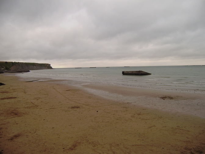 Gold beach_01_Arromanches