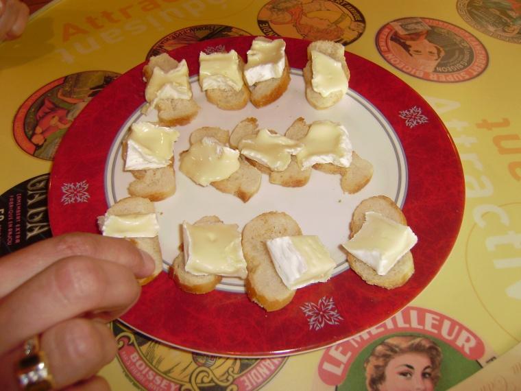 Tasting Camembert