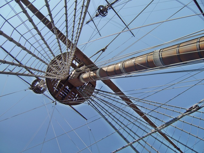 The Neptune, mast