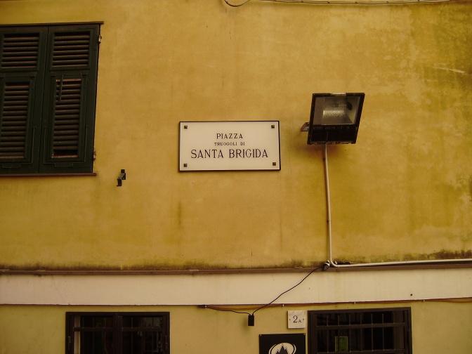 Old Genova, a detail