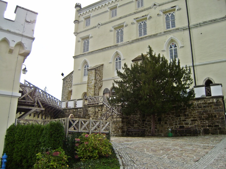 The castle grounds