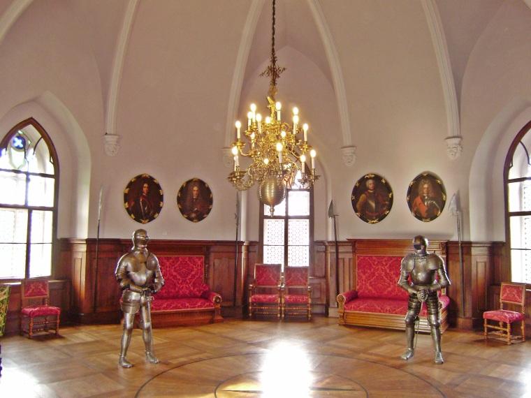 Castle, interior