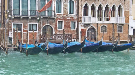 The gondolas