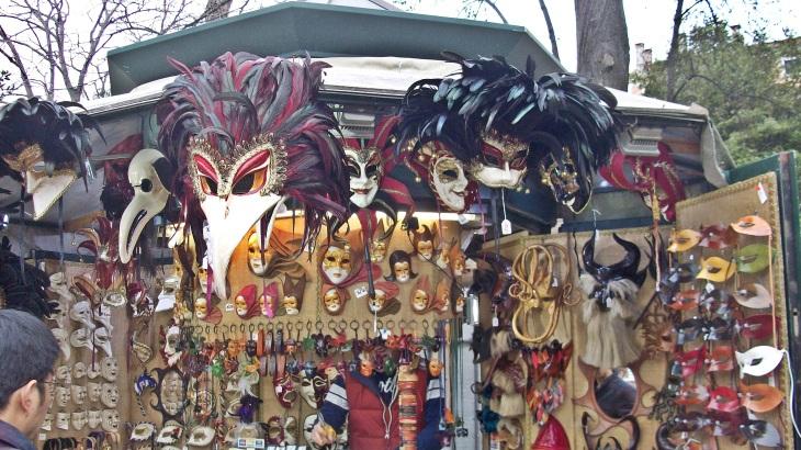 Venetian carnival masks for sale