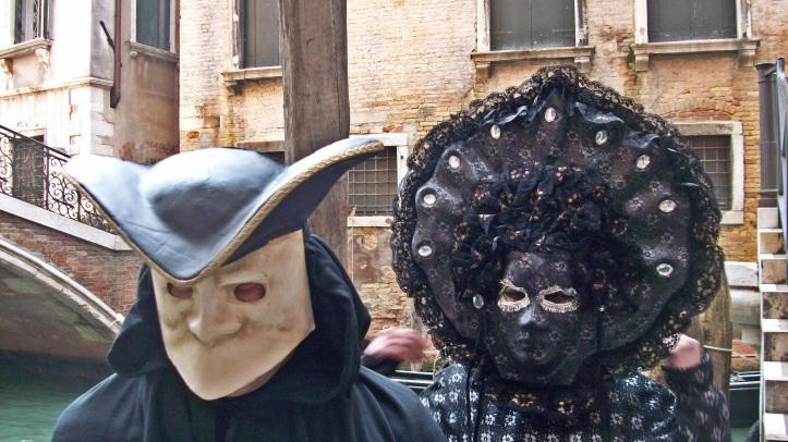 The masked couple