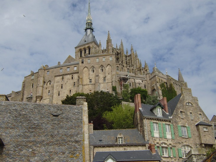 Architecture of Mont St Michel