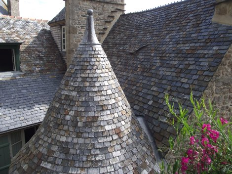 Rooftops of Mont St Michel_2