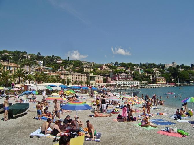 Santa Margherita Ligure, the beach