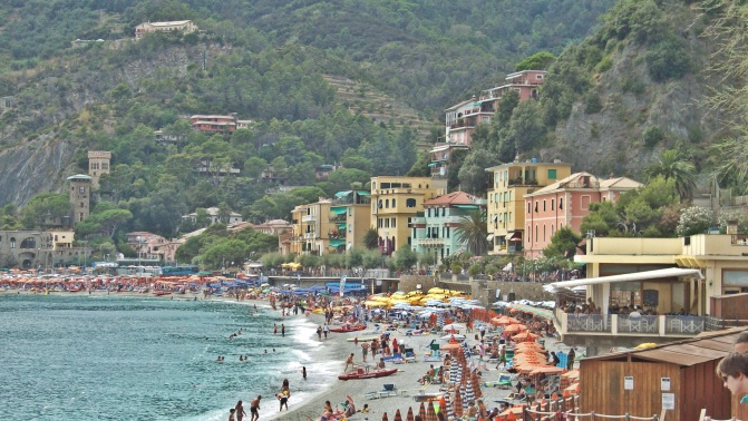 Monterosso al Mare, the beach