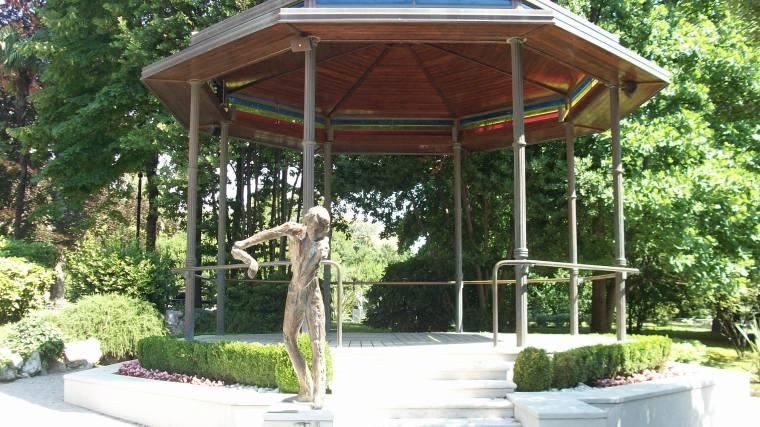 A pavillion in Park Angiolina