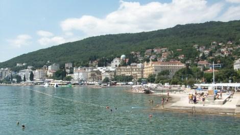 View of Opatija