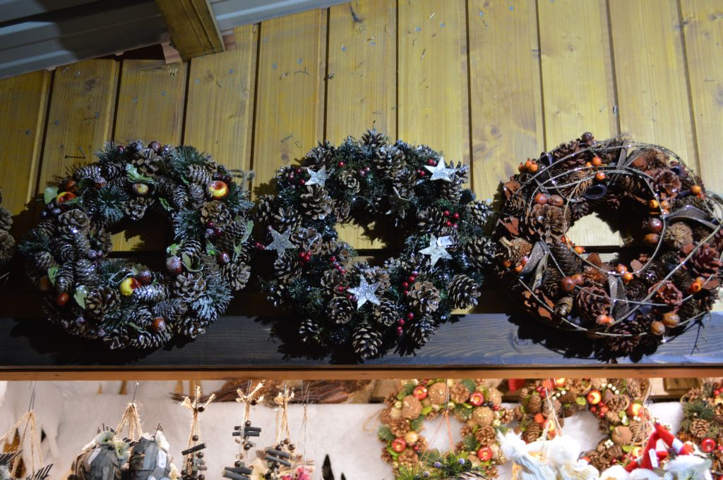 Holiday ornaments, a detail