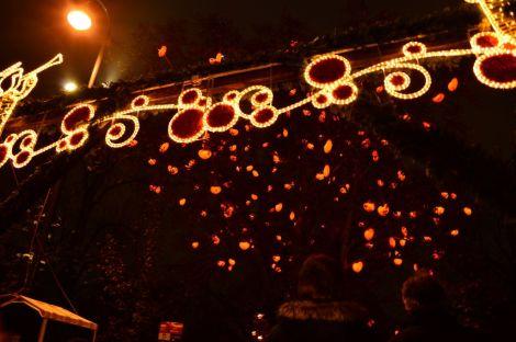 Christmas lights, Vienna