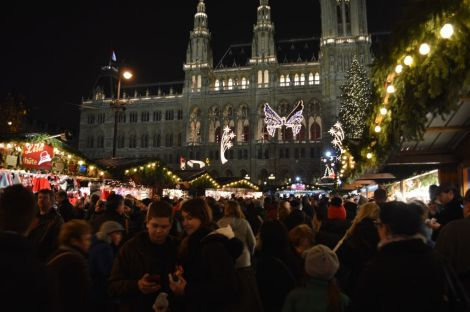 The Rathaus Christmas Market, Vienna