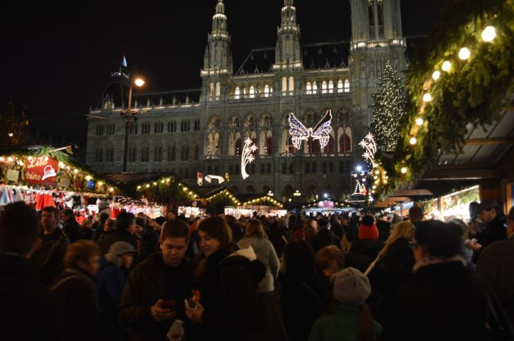 The Rathaus Christmas Market, Vienna