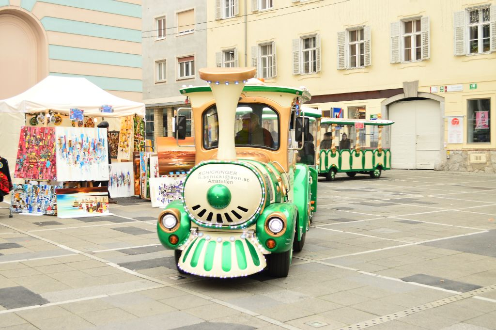 Nothing without the Christmas train, Graz