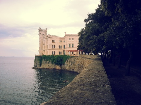 View of Miramare Castle
