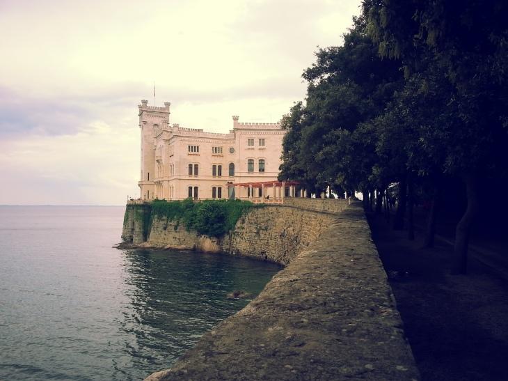 View of Miramare Castle