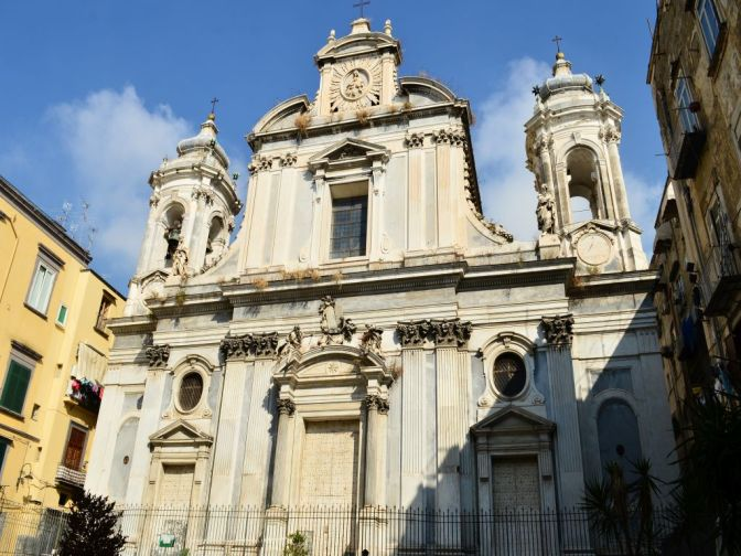 Churches in Naples