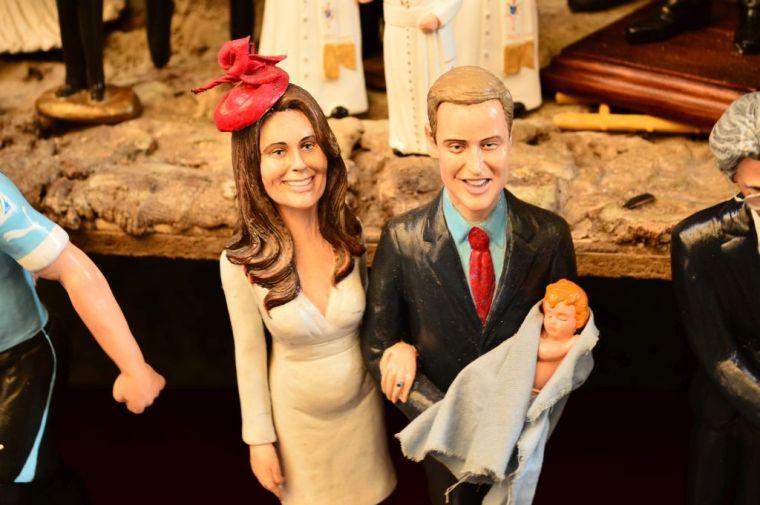 Presepy, British royal family