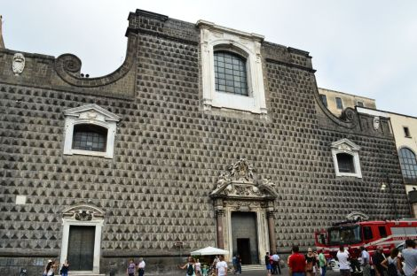 One of many churches of Napoli