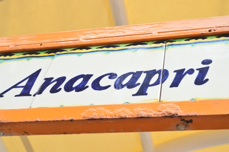 Anacapri!