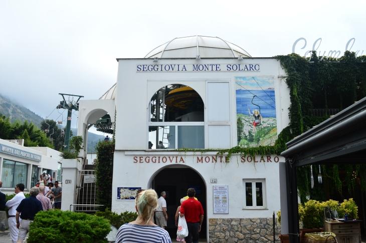 Funicular to Monte Solaro