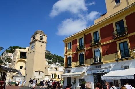 The town of Capri