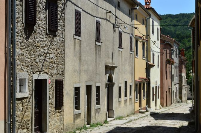 Draguć, the star of Istrian towns