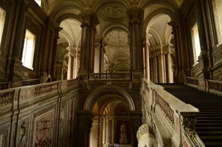 The royal staircase, change of perspective
