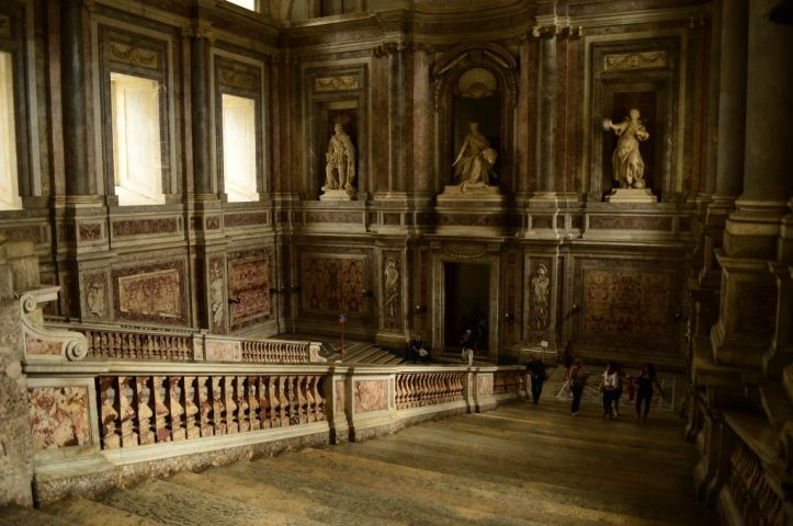 The royal staircase