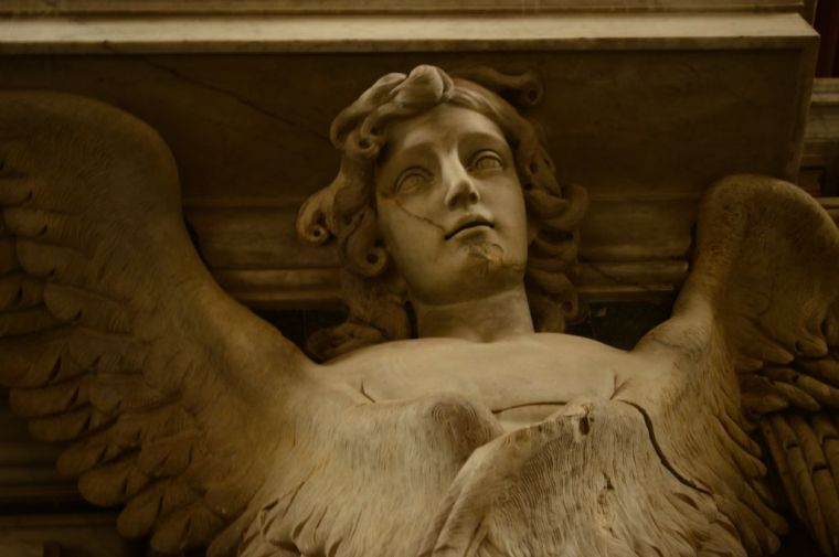 Palace interior, sculptural detail