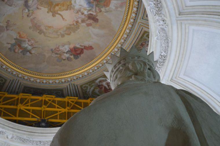 Palace interior, detail