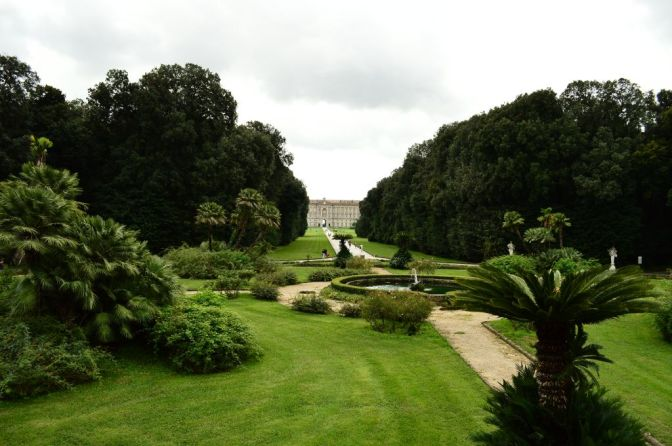 View of the palace from the gardens