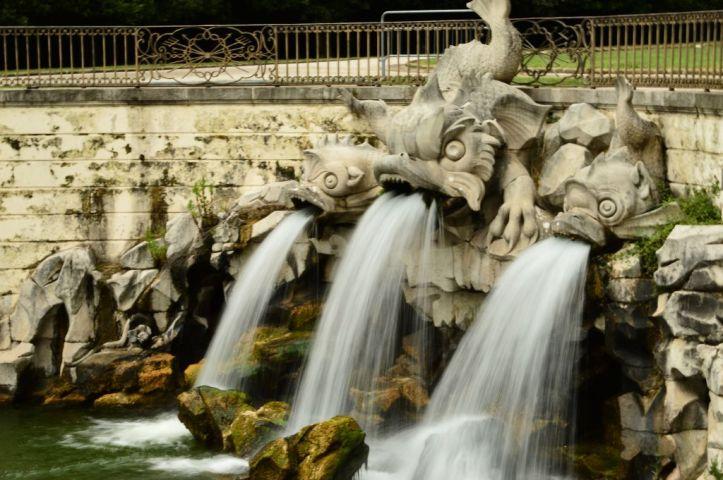 Garden fountains, detail