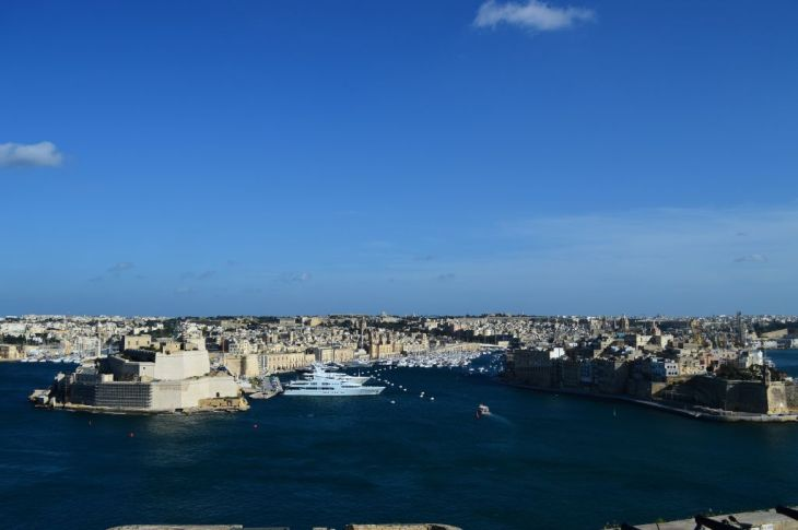 View of the Grand Harbour