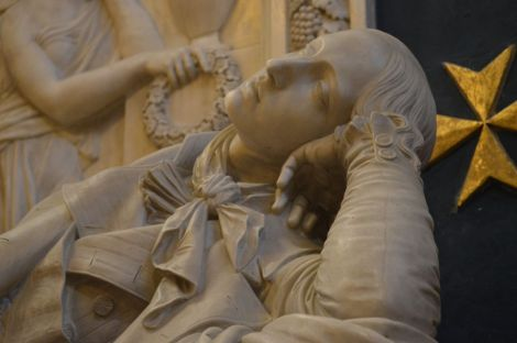 St John's Co-Cathedral, sculpture