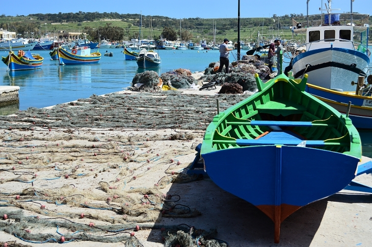Fishing boats of Marsaxlokk