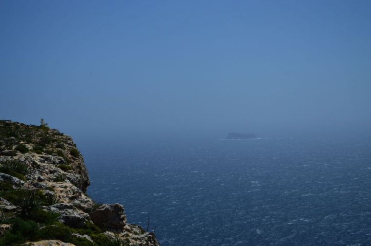 View into the distance, Dingli