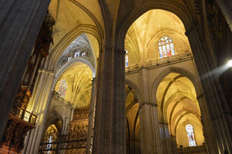 Catedral de Sevilla, interior