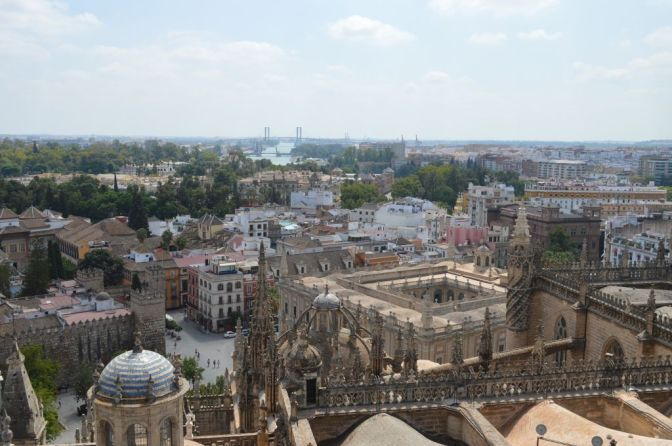 Wonderful Sevilla seen from La Giralda