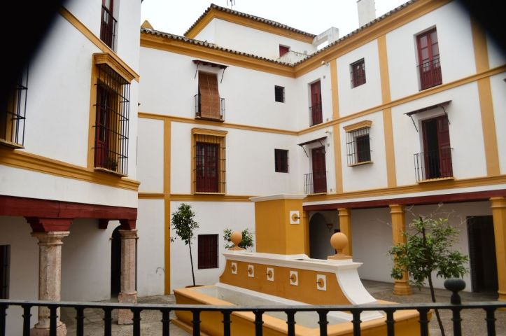 Back areas of Real Maestranza