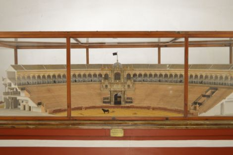 Model of the bullfighting ring