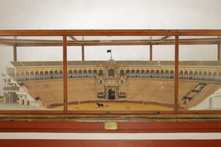 Model of the bullfighting ring